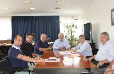 Συνάντηση Περιφερειάρχη Θεσσαλίας-Συντονιστή Αποκεντρωμένης Διοίκησης Θεσσαλίας-Στερεάς Ελλάδας