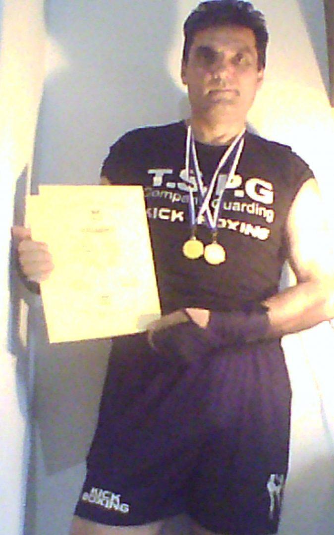 Δύο χρυσά μετάλλια ο Ανδρέας Κεχαγιάς