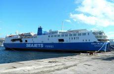 Επιβατηγό πλοίο προσέκρουσε στο λιμάνι της Σκιάθου