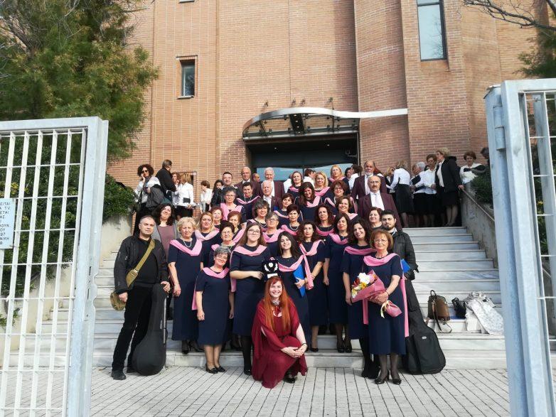 Επιτυχής η παρουσία της Τετράφωνης Μικτής Χορωδίας Δήμου Αλμυρού στην Κέρκυρα