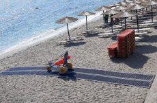 Συστήματα πρόσβασης ΑμΕΑ στην παραλία του Άη -Γιάννη και στο Χορευτό