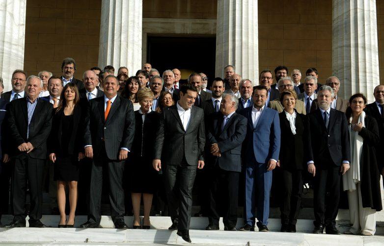 Η νέα σύνθεση της Κυβέρνησης