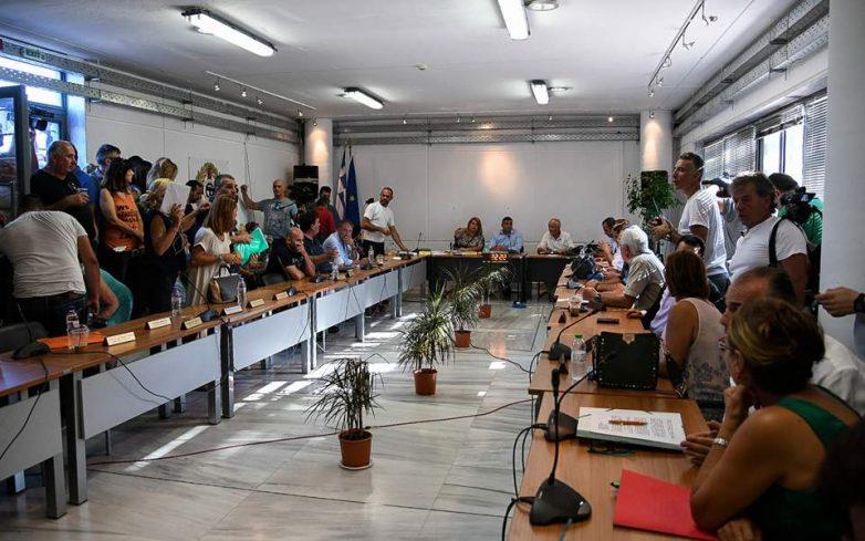 Live η συνεδρίαση του Δημοτικού Συμβουλίου Μαραθώνα