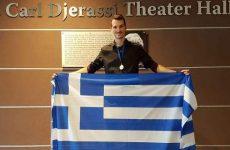 To χρυσό μετάλλιο κατέκτησε o Γιώργος Κοτσοβόλης στον Παγκόσμιο Διαγωνισμό Μαθηματικών