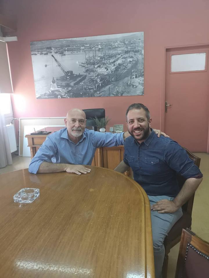 Συνάντηση Αλ. Μεϊκόπουλου με τον πρόεδρο & διευθύνοντα σύμβουλο  του Ο.Λ.Β.