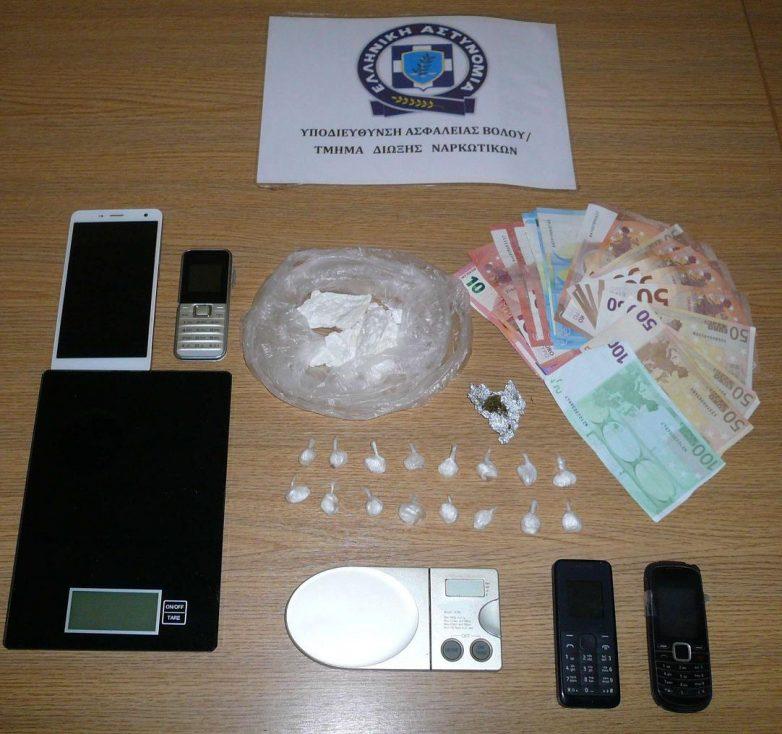 Σύλληψη τριών ατόμων στη Σκιάθο με ναρκωτικά