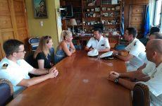 Εθιμοτυπική επίσκεψη NATOϊκών στην Αντιπεριφερειάρχη Μαγνησίας και Σποράδων