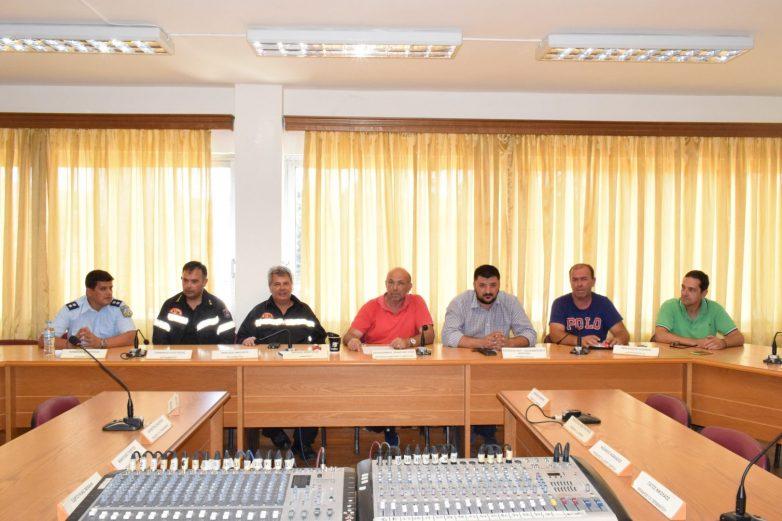 Έκτακτη Συνεδρίαση Συντονιστικού Οργάνου Πολιτικής Προστασίας Δήμου Ρ.Φεραίου