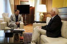 Συνάντηση του Πρωθυπουργού με τον επικεφαλής του Παγκόσμιου Κέντρου Παρακολούθησης Πυρκαγιών