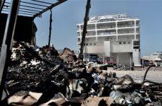 Συνεχίζεται η κατάσβεση στο «Ελευθέριος Βενιζέλος»