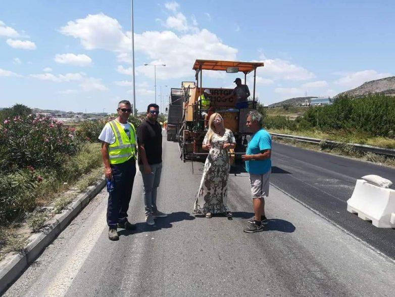 Τεχνικές και ασφαλτικές εργασίες στο επαρχιακό οδικό δίκτυο του Δήμου Ρήγα Φεραίου