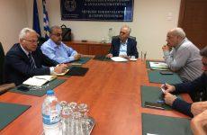 Συνάντηση αντιπροέδρου της Κυβέρνησης με τον αντιπρύτανη του Πανεπιστημίου Κρήτης