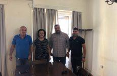Συνάντηση Σωματείου Δημοτικών Αστυνομικών Αθήνας με την υφυπουργό Εσωτερικών Μαρίνα Χρυσοβελώνη
