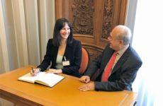 Συνάντηση υπουργού Τουρισμού- γ.γ.  ΟΟΣΑ στο Παρίσι