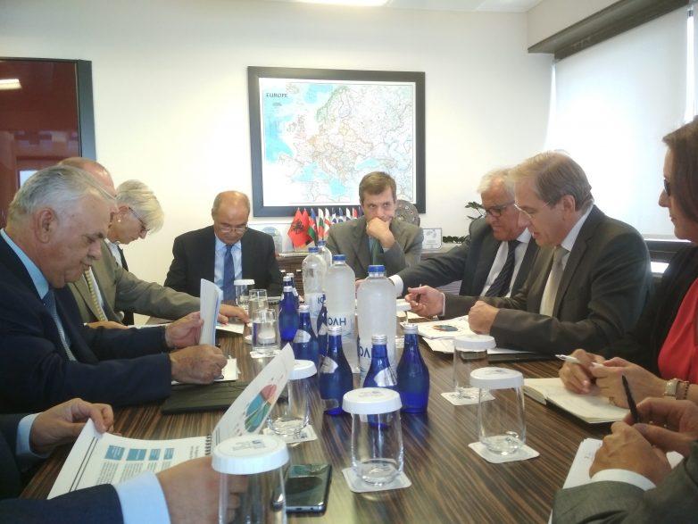 Συνάντηση Αντιπροέδρου Κυβέρνησης- Προέδρου Τράπεζας Εμπορίου & Ανάπτυξης Ευξείνου Πόντου
