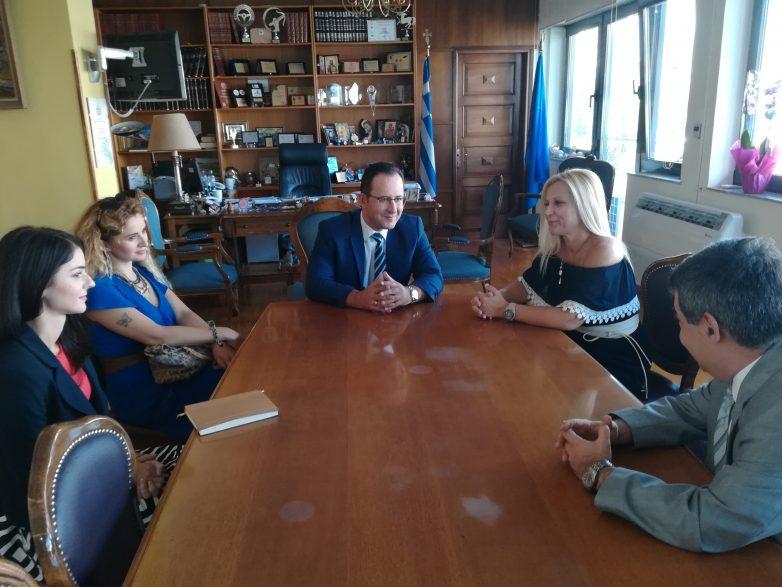 Συνάντηση γνωριμίας αντιπεριφερειάρχη ΠΕΜΣ-πρόξενου Τουρκίας