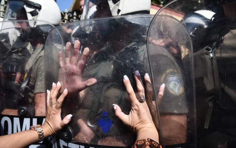 Σε κλοιό διαδηλώσεων και… αστυνόμευσης η Θεσσαλονίκη