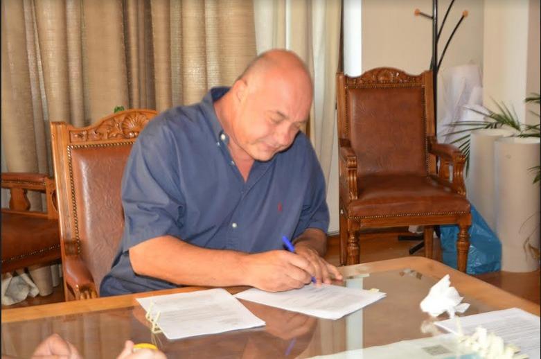 Υπογραφή συμβάσεων για έργα στο Δήμο Βόλου