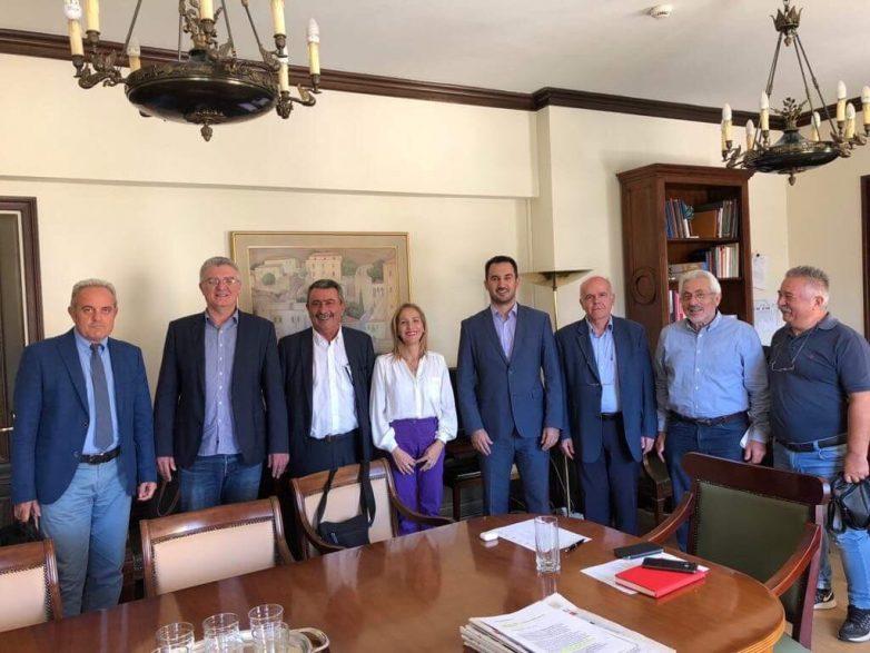Συνάντηση συντονιστών Αποκεντρωμένων Διοικήσεων με τον υπουργό Εσωτερικών