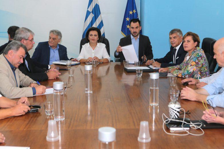 Συνάντηση υπουργού Εσωτερικών Αλέξη Χαρίτση με το ΔΣ της ΕΝΠΕ