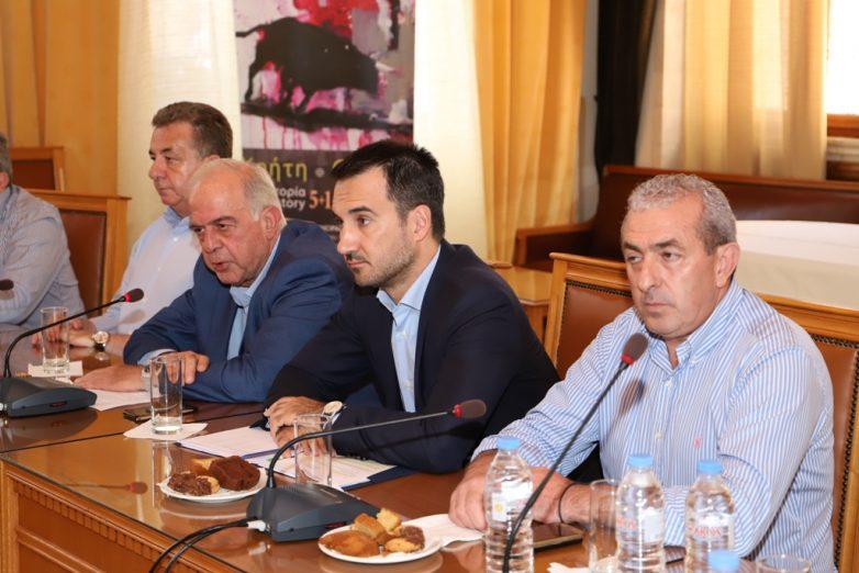 Διήμερη επίσκεψη του Υπουργού Εσωτερικών, Αλέξη Χαρίτση, στην Κρήτη
