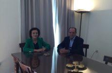 Συνάντηση υφυπουργού Εσωτερικών με τον δήμαρχο Ζαγοράς – Μουρεσίου