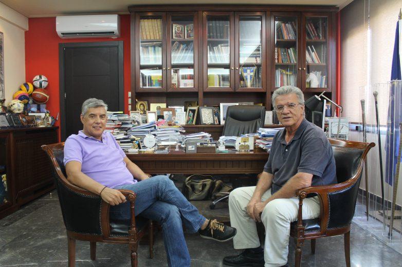 Τον Περιφερειάρχη Θεσσαλίας επισκέφτηκε ο πρόεδρος του ΠΣΑΤ