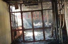 Σοβαρές ζημιές από τη μεγάλη πυρκαγιά στο Πανεπιστήμιο Κρήτης