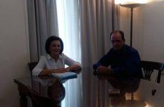 Συνάντηση υφυπουργού Εσωτερικών Μαρίνας Χρυσοβελώνη-δημάρχου Ζαγοράς – Μουρεσίου