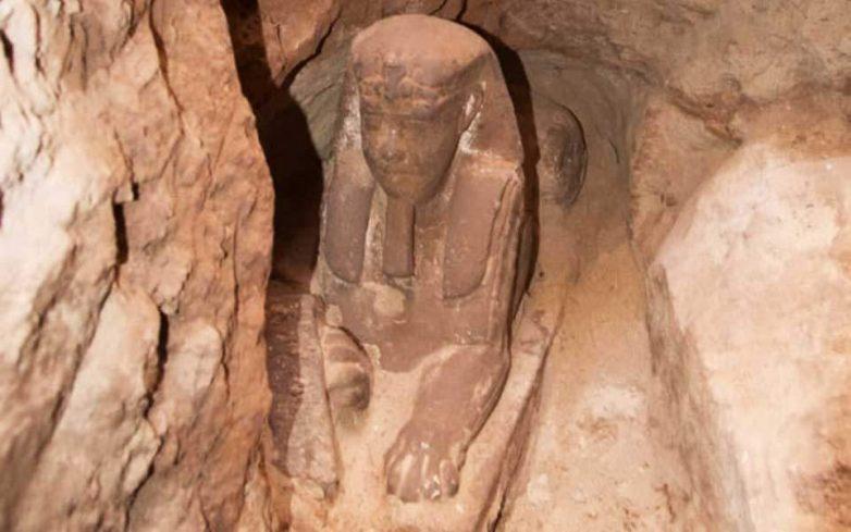 Ανακαλύφθηκε άγαλμα Σφίγγας