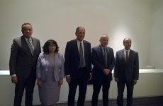 Πενταμερής συνάντηση ΥΠΕΝ Γ. Σταθάκη με τους ομολόγους του από ΗΠΑ, Βουλγαρία, Σερβία, Ισραήλ