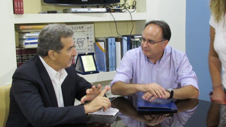 Συνάντηση μελών Επιμελητηρίου Μαγνησίας με τον Μιχ. Χρυσοχοϊδη