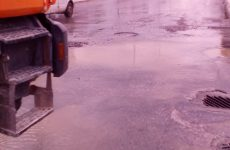 Nέα βλάβη σε αγωγό της ΔΕΥΑΜΒ στην οδό Λαρίσης