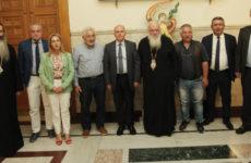 Συνάντηση συντονιστών Αποκεντρωμένων Διοικήσεων με τον αρχιεπίσκοπο Αθηνών & Πάσης Ελλάδος