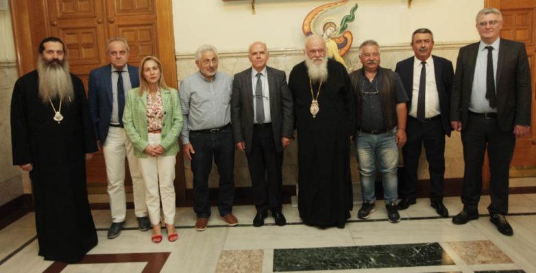 Αποτέλεσμα εικόνας για Συνάντηση των Συντονιστών Αποκεντρωμένων Διοικήσεων της Χώρας με τον Αρχιεπίσκοπο Αθηνών & Πάσης Ελλάδος κκ Ιερώνυμο.