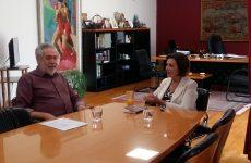 Τον δήμαρχο Αλμυρού επισκέφθηκε η υφυπουργός Εσωτερικών