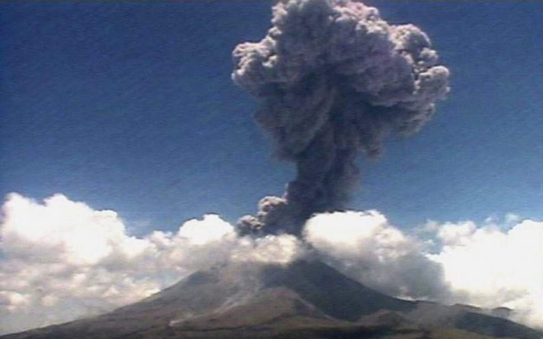 Μεξικό: «Ξύπνησε» το ηφαίστειο Ποποκατέπετλ