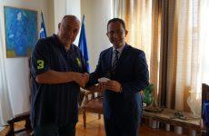 Στον Βόλο ο γενικός πρόξενος της Τουρκίας στην Θεσσαλονίκη