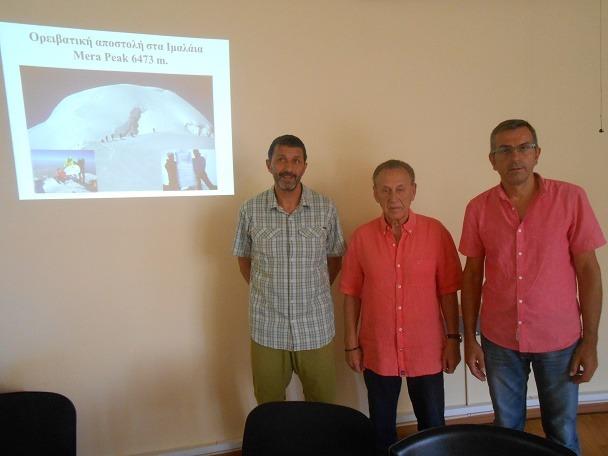 Ορειβατική αποστολή του ΕΟΣ Βόλου στα Ιμαλάϊα