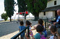 Εγκαινιάστηκε η σύγχρονη παιδική χαρά  στην Αγ. Κυριακή Ζαγοράς