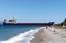 Ελέγχθηκε το φορτηγό πλοίο στην Εύβοια