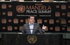 Αλέξης Τσίπρας: Παγκόσμιο σύμβολο ειρήνης ο Νέλσον Μαντέλα