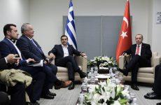 Σε βελτιωμένο κλίμα η συνάντηση Τσίπρα – Ερντογάν