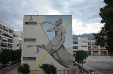 """Το Πρώτο """"Υπαίθριο Μουσείο Δημόσιων Τοιχογραφιών"""" στην Ελλάδα"""