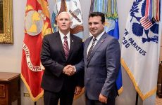 Ζάεφ: Ο αντιπρόεδρος των ΗΠΑ μας εξέφρασε την υποστήριξή του για το δημοψήφισμα