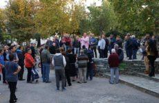 Τη συνοικία των Αγίων Αναργύρων επισκέφθηκε ο δήμαρχος Βόλου