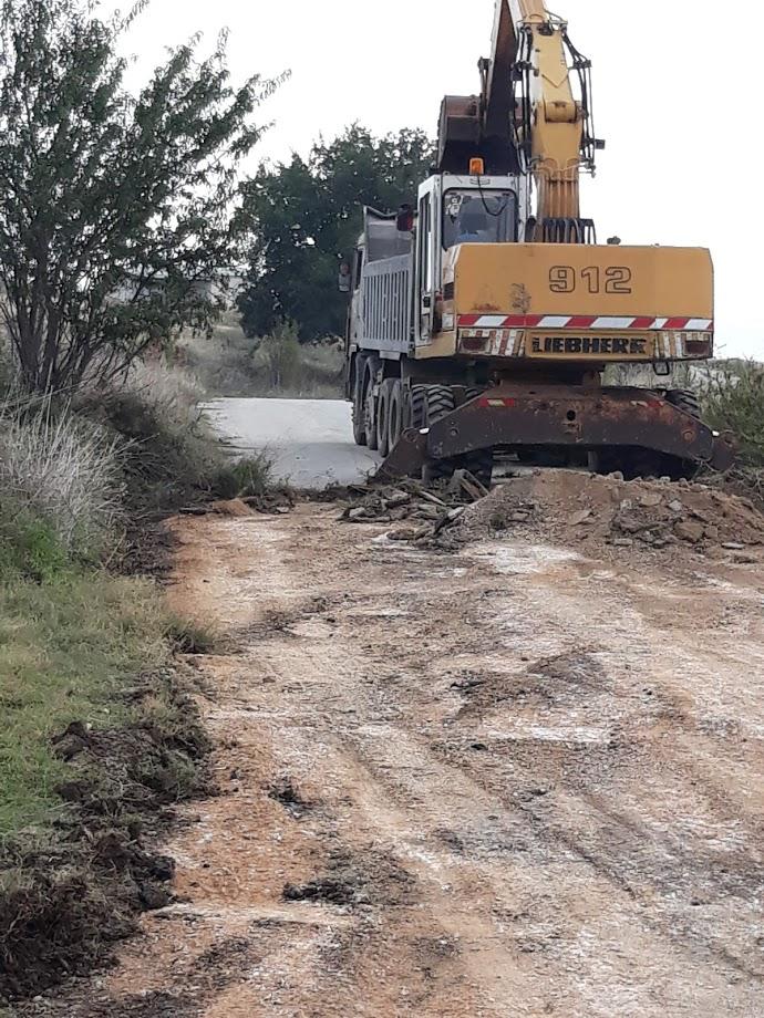 Εργασίες αποκατάστασης ζημιών από την ΠΕΜΣ στον Δήμο Αλμυρού