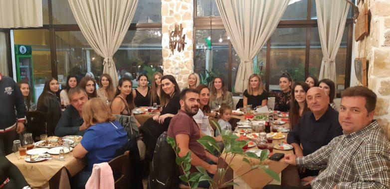 Φιλικό με ΓΣ Βόλου και δείπνο τμήματος βόλεϊ του Ολυμπιακού Βόλου