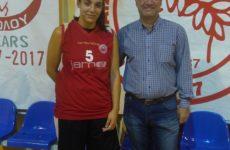 H Χριστίνα Nτόβα στην Γυναικεία Ομάδα Μπάσκετ του Ολυμπιακού Βόλου