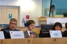 Κ. Αγοραστός στη συνεδρίαση της Επιτροπής Οικονομικών της Επιτροπής των Περιφερειών